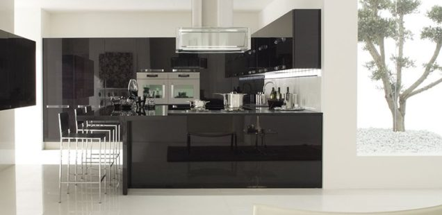 кухня модерн Бергамо